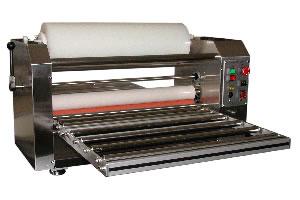 Adhesive sheet laminator