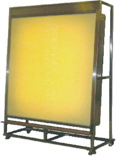 Vertical light table